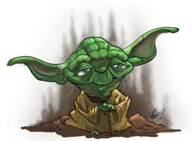 Yoda by bangalore-monkey