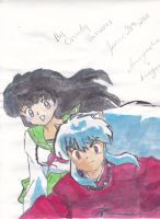 InuYasha and Kagome by Anime-Sasu94
