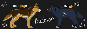Wolf Design Auction 1 by IrishWolven