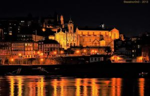 Porto - night by assincr0n0