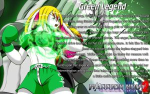 Warrior Bout 2 Profile: Green Legend by CylnX