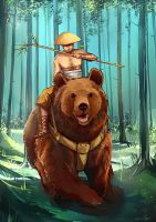 Bear Forest by haneep