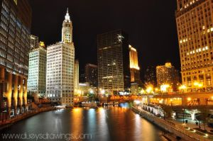 Chicago Skyline by golfiscool