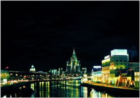 Moscow night in color by whatthis