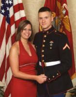 My Date and I at the USMC Ball by StanfordRckr15