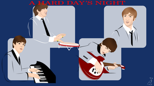 A Hard Day's Night - new by FoolEcho