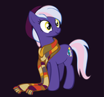 Daily Double Loves her Scarf by BlueZircon-DA