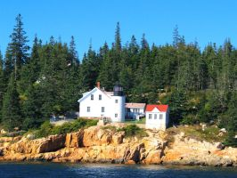 Another View of Bass Harbor by davincipoppalag