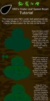 Ovate leaf speed brush tutorial by VN0