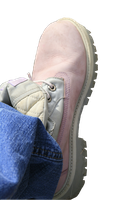 Left Female Pink Boot Stock by Crematia18