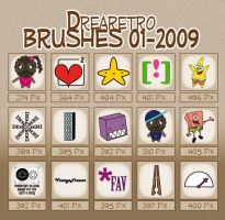 _Drearetro Brushes 01-2009_ by drearetro