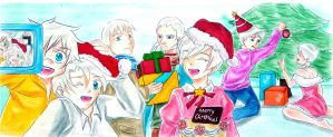 [Fantastic Children] Merry Christmas 2014 by Hini-Parlous