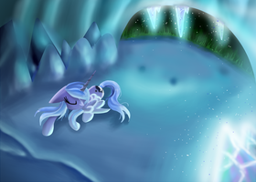 Sleepy Luna by Kaiilu