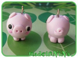 Porcellonzi -cute pig- design by LaNiNaOnLiNe