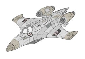 2nd Generation Fighter by wookieebasher