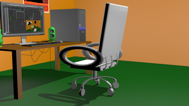 WIP Computer setup #6 by pproky