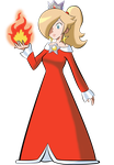 Fireprincess Rosalina by AnyaHikari