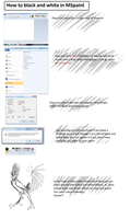 how to black and white in paint by mechanicalmasochist