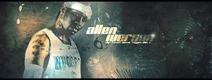 Allen Iverson Sig by fullevent