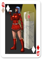 Alibi - Queen of Diamonds by CerberusLives