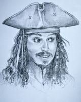 CAPTAIN jack sparrow by princetheripper33
