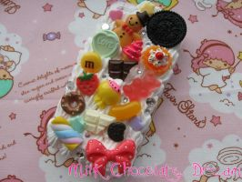 Super Sweet Decoden Phone Case by Frainy