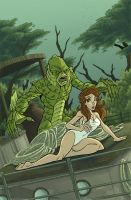 creature from the black lagoon by natelovett