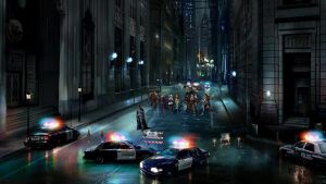 Arkham in the City by michpirate