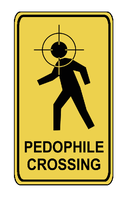 Pedophile Crossing by davidwpaul