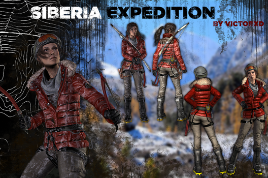 Lara Croft ~ Siberia Expedition {ROTTR} by ViCt0RXD