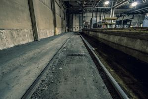 Indoor Train Loading Dock by 5isalive