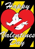 Ghostbusters Valentine by laneamania