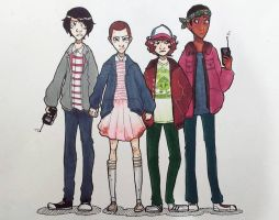 Stranger Things by Aryanel