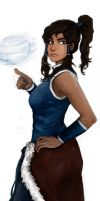 Korra airball Full by molcray