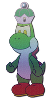 Sticker Yoshi by Yoshij1had