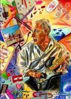 David Gilmour by lilie1111