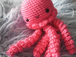 - Hot Pink Jellyfish 1 - by awkwardsoul