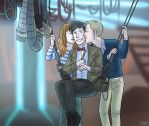 5 - Kiss the Doctor! by thatoddowl