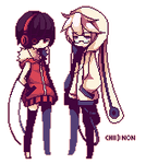 [GIFT] Pixel Chii and Non by Hachiimi