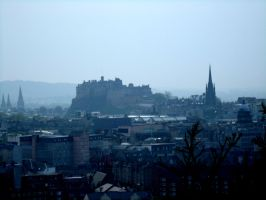 Edinburgh Castle .. by CoasterLass