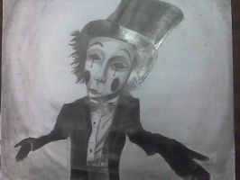 Distorted Mime by watchfuleyes999