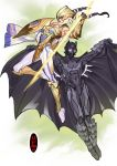 Batman and Wonder-woman, or are they? by nunchaku