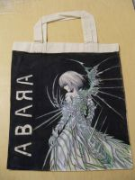 Hand painted shopping bags 2 by RMTG