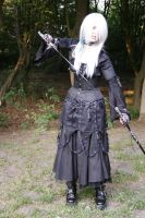 Gothic3 with sword 8 by Noirin-Stock