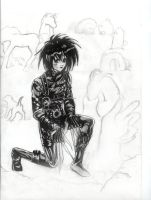Young Edward Scissorhands by Sondra