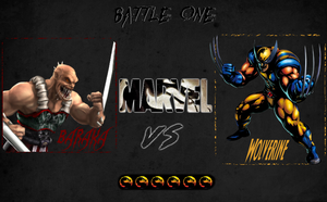 Wolverine vs Baraka by BornAnimeFreak