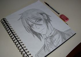 Sebastian Michaelis by tangerinexoxo