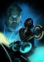 Tron Legacy by thesilvabrothers