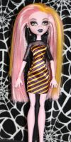 Stryfe monster high custom doll by rainbow1977