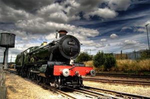 Locomotive HDR by nat1874